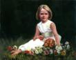 Flower Girl oil 30 x 24